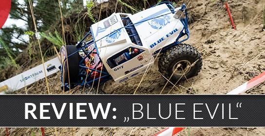 """BLUE EVIL"" Eigenbau Scale-Crawler mit Tuber Chassis"