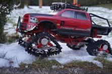 Erste Testfahrt Xtra Speed Snow Tracks