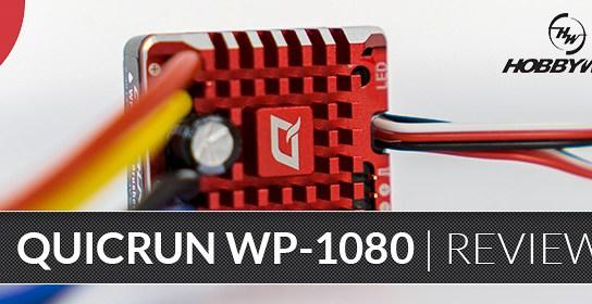 Hobbywing QuicRun WP 1080 - Crawler Fahrtenregler - Unboxing & Programmierung
