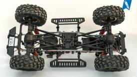 Carson MC-10 - Aluminium Crawler-Leiterrahmen und Skidplate