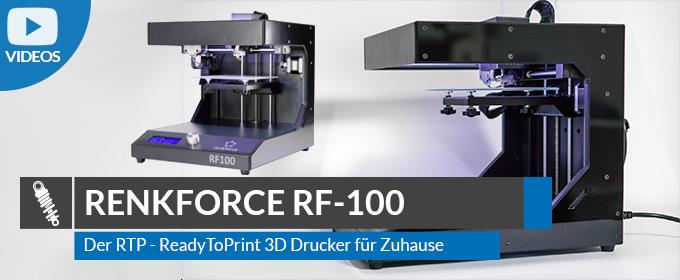 Marvelous Renkforce RF100 U2013 3D Drucker Für Zuhause U2013 Mein Erfahrungsbericht