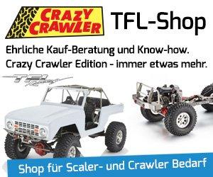 Crazy Crawler ist Ihr Profi-Shop für Scaler- und Crawler-Bedarf