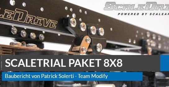Scaleart Scaledrive 8x8 Scale Trial Truck - Baubericht Teil 1/2 1