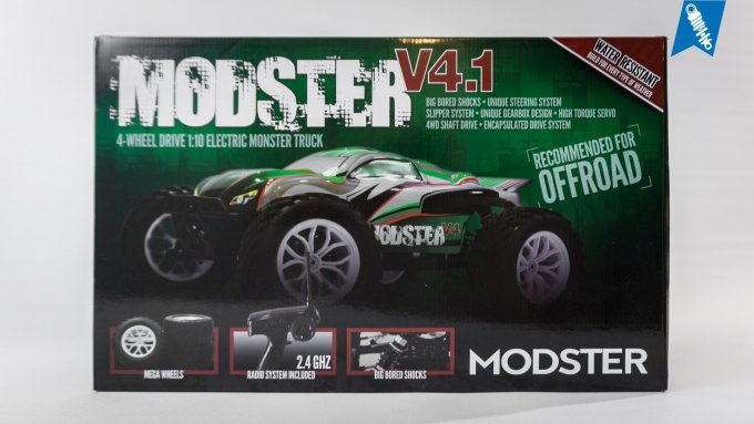 MODSTER V4.1 Brushless Monster Truck – Unboxing & Testfahrt