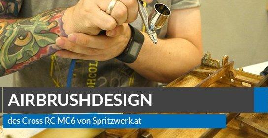 Airbrush Design des Cross RC MC6 von Spritzwerk
