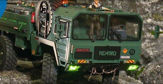 RC4WD The Beast / Rock blasting
