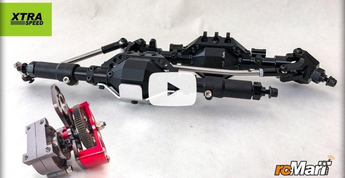 Artikelbild: Xtra Speed Aluminum Achsen und Getriebe