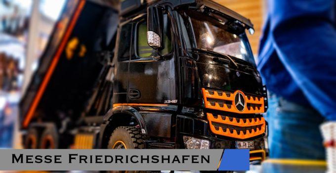 Faszination Modellbau Friedrichshafen - Messe Bericht 1
