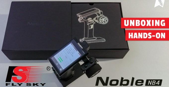 Flysky FS-NB4 Noble 4-Kanal Sender – Unboxing und Vorstellung