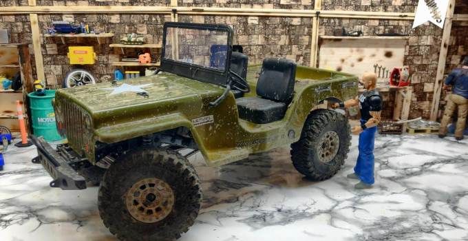 Absima Scale Crawler CR-2.4 Petrol + JEEP RTR – Unboxing & Review