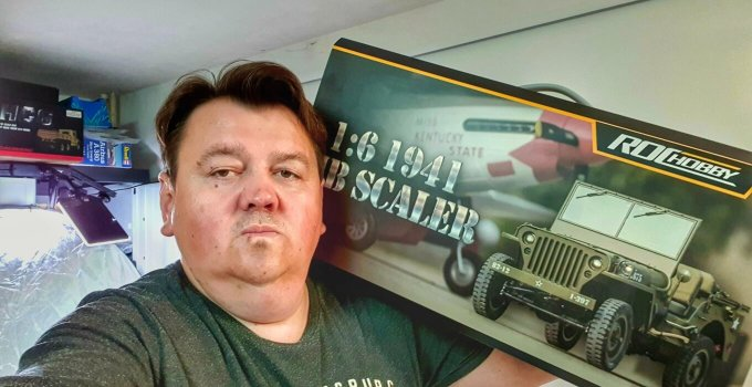 """RocHobby 1941 MB Scaler 1:6 RTR """" Jeep Willys"""" 