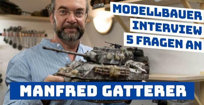 Modellbauer stellen sich vor: 5 Fragen an Scale Modellbauer & Panzerexperte – Manfred