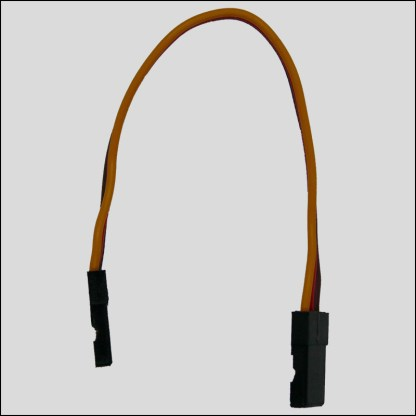 JR-Kabel, Stecker-Stecker, 10cm