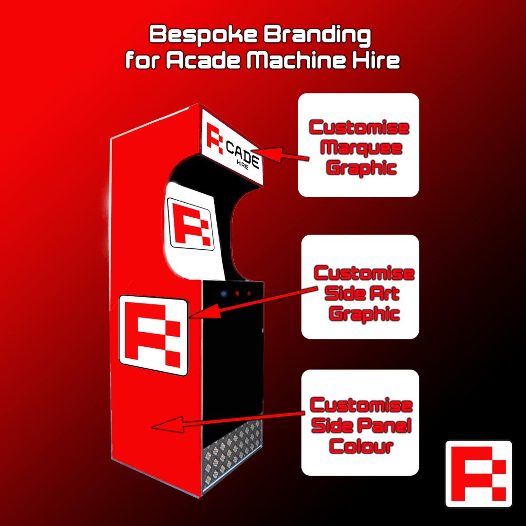 Custom Branding Example for Arcade Machines