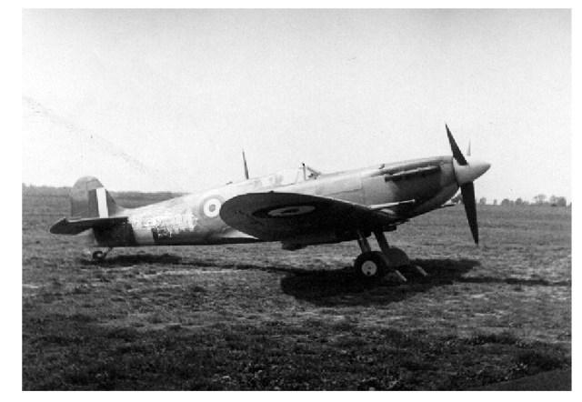 LeClare Walker's Spitfire Mk Vb
