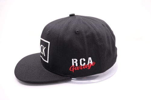 RCA Garage Snapback Hat – Track Limited Edition Side