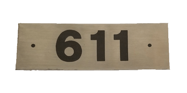 Engraved Stainless Tag