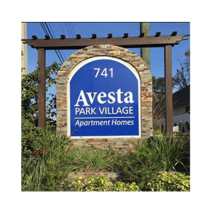 Aluminium-Signs-Avesta-Park-Village