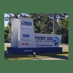 Monument-Signs-Port-Jax-Trade-Center