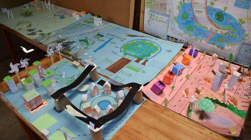La classe de 6e et  « MA VILLE DE DEMAIN » : des projets de villes plus vertes et  plus écologiques