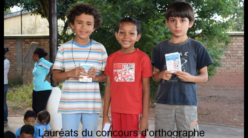 Concours d'orthographe