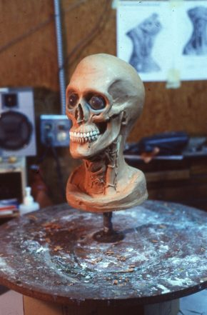 Critters Transformation Skull sculpt finished