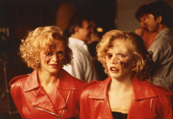 """Eve of Destruction"" Bullet hit head & actress in make-up, Renée Soutendijk"