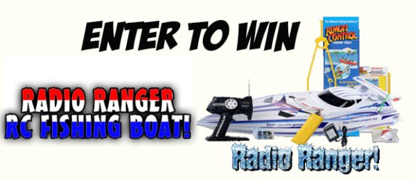 ENTER TO WIN A FREE RC FISHING BOAT FROM FISH FUN CO.