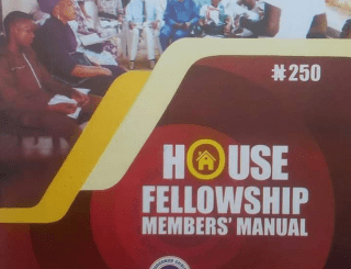 RCCG HOUSE FELLOWSHIP MANUAL 2020 PDF