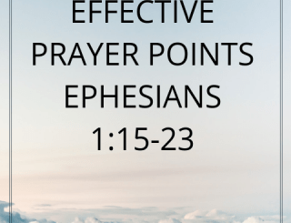 PRAYER POINTS ON TODAY'S OPEN HEAVEN 16 SEPTEMBER 2020