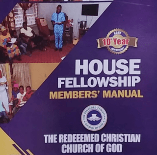 RCCG HOUSE FELLOWSHIP MEMBERS' MANUAL 24 JANUARY 2021