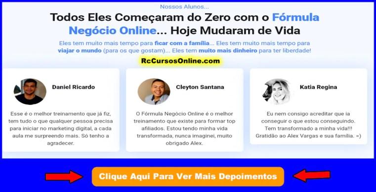 32 formula negocio online depoimentos fno - Fórmula Negócio Online Alex Vargas Curso.