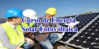 Curso de Energia Solar Fotovoltaica de Capacitação Pessoal