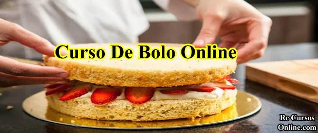 Curso De Bolo Online (Como Fazer Bolos Decorados).