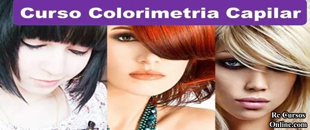 Curso de colorimetria para barbeiros e cabeleireiros.