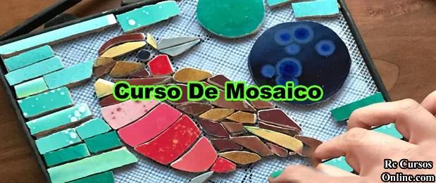 Curso De Mosaico- Como Fazer Mosaico.