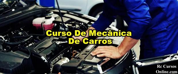 Curso De Mecânica De Carros Curso Com Certificado Digital.