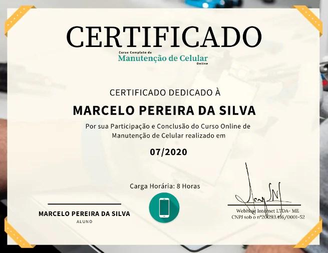 Curso Manutencao de Celular Certificado rc cursos online - Curso Manutenção De Celular Preço.