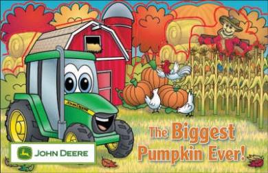 Image result for the biggest pumpkin ever john deere