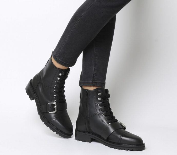3 Razones por las que deberías de empezar a ponerte botas negras