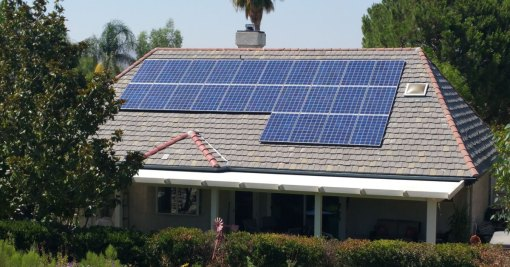 Canyon Lake California Project – Solar – Roofing