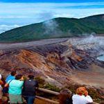 Costa Rica el primer país de Centroamérica con sistema de riesgo en un volcán