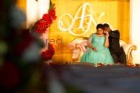 christian wedding decor crowne plaza, kochi, kerala