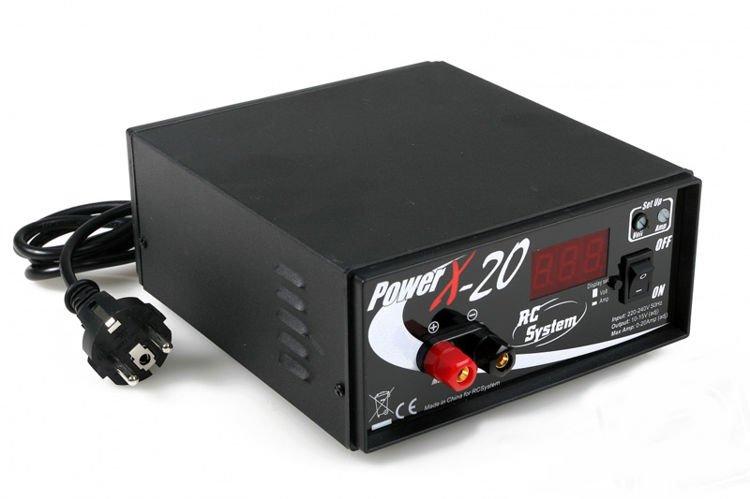 Power Supply RC SYSTEM X-20 10-15V/20A