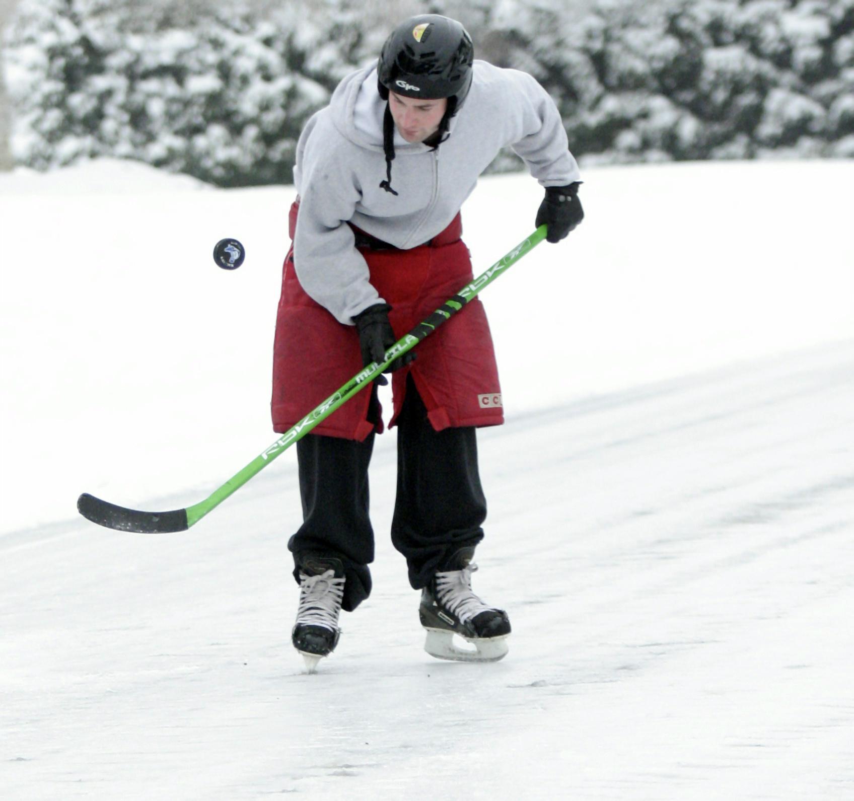 Ross ice skating in Keizer
