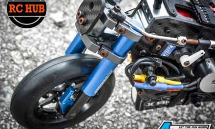 1/8 SCALE MOTORCYCLE WITH GYRO…… OH YEAH !!