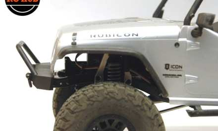 STRC SCX10 II BUMPER MOUNT UPGRADES