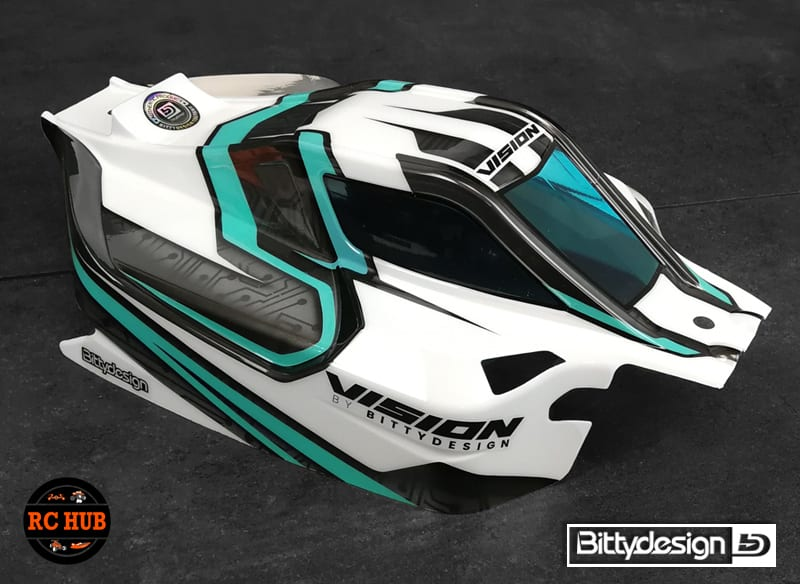 Bittydesign VISION Clear body for Mugen MBX8 Eco