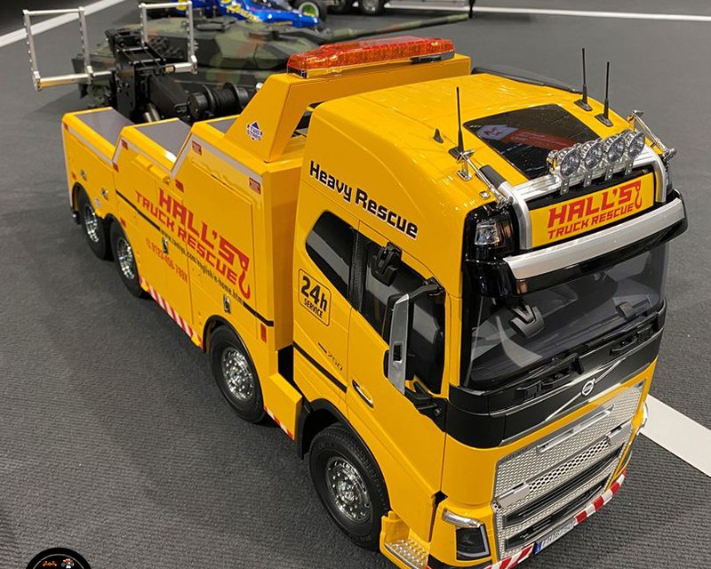Volvo FH16 Globetrotter 750 8×4 Tow Truck Kit