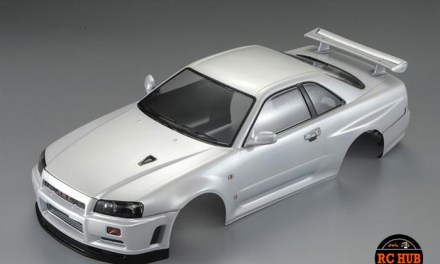 1/10 NISSAN SKYLINE Clear Body